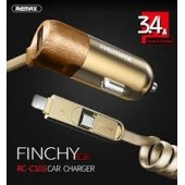 Remax Finchy RCC103 Car charger