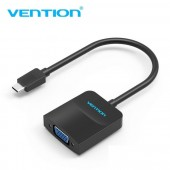 Vention CGFBB Type-C to VGA Converter 0.15M Black